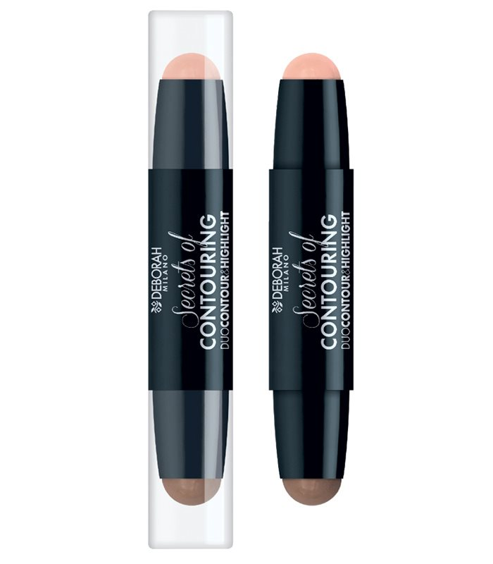 DEBORAH SECRETS OF CONTOURING STICK DUO CONTOUR & HIGHLIGHT 01 LIGHT