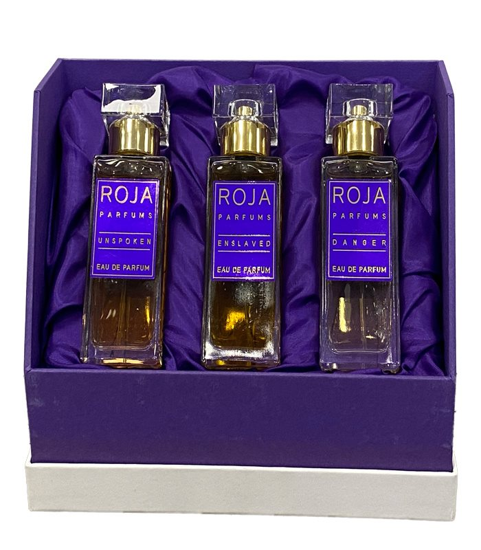 ROJA PARFUMS UNSPOKEN - ENSLAVED - DANGER TRIPLE EDP 3*30ML